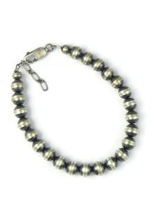 Silver Bead Bracelet 7mm (BR6441)