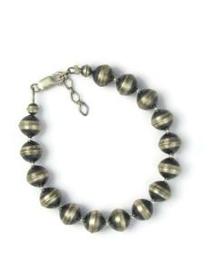 Silver Bead Bracelet 9mm (BR6442)