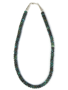 """Chinese Turquoise Beads 19"""" (NK4914)"""