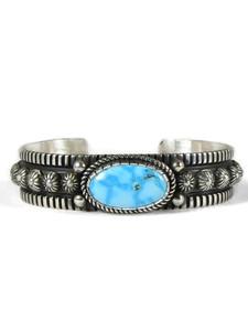 Kingman Turquoise Bracelet by Albert Jake (BR6447)