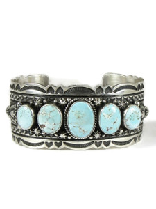 Golden Hills Turquoise Row Bracelet by Happy Piaso (BR6456)