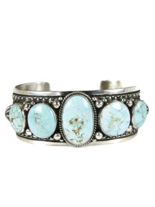 Dry Creek Turquoise Row Bracelet by Happy Piaso (BR6457)