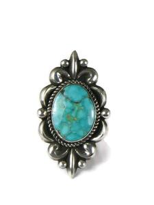 Kingman Turquoise Ring Size 7 by Albert Jake (RG5183)