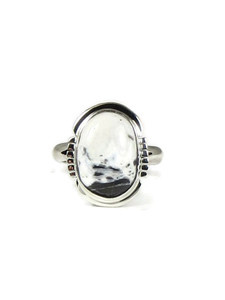 White Buffalo Ring Size 6 by Jake Sampson (RG5194)