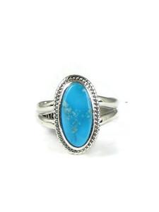 Blue Bird Turquoise Ring Size 5 (RG5196)