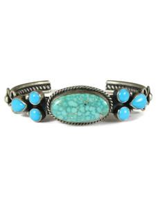 Kingman & Sleeping Beauty Turquoise Bracelet by Derrick Gordon (BR0615)