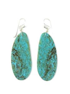 Turquoise Slab Earrings (ER5909)
