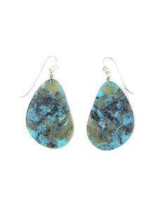 Turquoise Slab Earrings (ER5911)