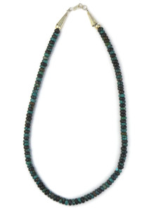 """Chinese Turquoise Beads 18 3/4"""" (NK4915)"""