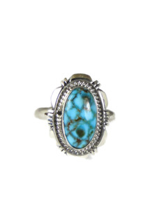 Kingman Turquoise Ring Size 9 by Ty Francisco (RG5199)