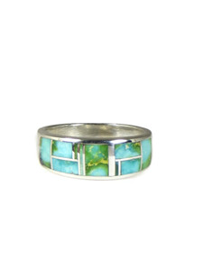 Sonoran Turquoise Inlay Ring Size 11 (RG6001)