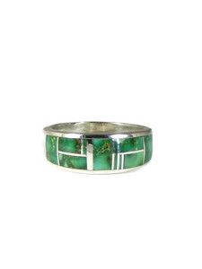 Sonoran Turquoise Inlay Ring Size 10 (RG6002)