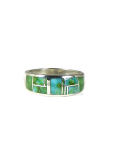 Sonoran Turquoise Inlay Ring Size 11 (RG6003)