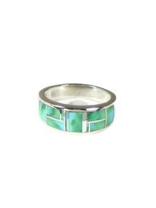 Sonoran Turquoise Inlay Ring Size 10 1/2 (RG6004)