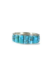 Kingman Cornroll Inlay Ring Size 10 1/2 (RG6007)