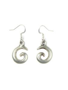 Silver Swirl Earrings by Isabel Kee (ER5854)