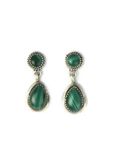 Malachite Dangle Earrings (ER5955)