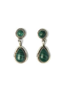 Malachite Dangle Earrings (ER5958)