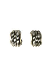 Silver Hoop Earrings (ER5964)