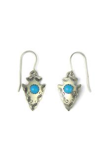 Turquoise Arrowhead Earrings (ER5968)