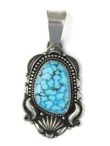 Water Web Kingman Turquoise Pendant by Derrick Gordon (PD5024)