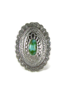 Sonoran Turquoise Concho Ring Size 7 (RG6027)