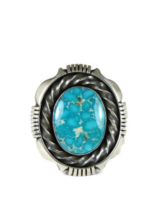 Pilot Mountain Turquoise Ring Size 8 by Cooper Willie (RG6031)