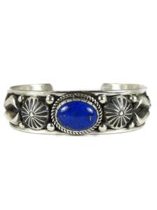 Silver Lapis Bracelet by Albert Jake (BR6574)