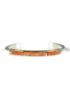 Spiny Oyster Shell Inlay Bracelet (BR6576)