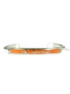 Spiny Oyster Shell Inlay Bracelet (BR6578)