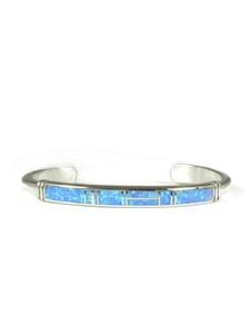 Blue Opal Inlay Bracelet (BR6580)