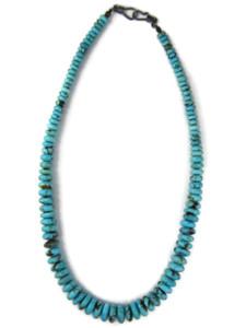 Graduated Kingman Turquoise Beads (NK4943)