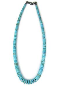 "Turquoise Heishi Necklace 19"" (NK4952)"