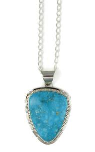 Kingman Turquoise Pendant by Larson Lee (PD4394)