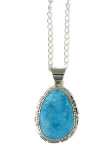 Kingman Turquoise Pendant by Larson Lee (PD4396)