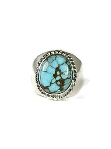 Number 8 Turquoise Ring Size 11 (RG6059)