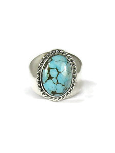 Number 8 Turquoise Ring Size 11 1/2 (RG6061)
