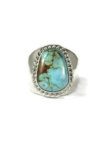 Number 8 Turquoise Ring Size 9 (RG6062)