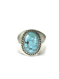 Number 8 Turquoise Ring Size 12 (RG6063)