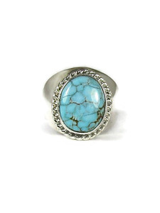 Number 8 Turquoise Ring Size 10 1/2 (RG6064)