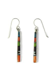 Multi Gemstone Inlay Earrings (ER5975)