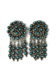 Turquoise Dangle Earrings by Wayne Johnson (ER5985)