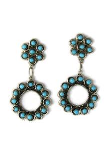 Turquoise Dangle Earrings by Wayne Johnson (ER5988)