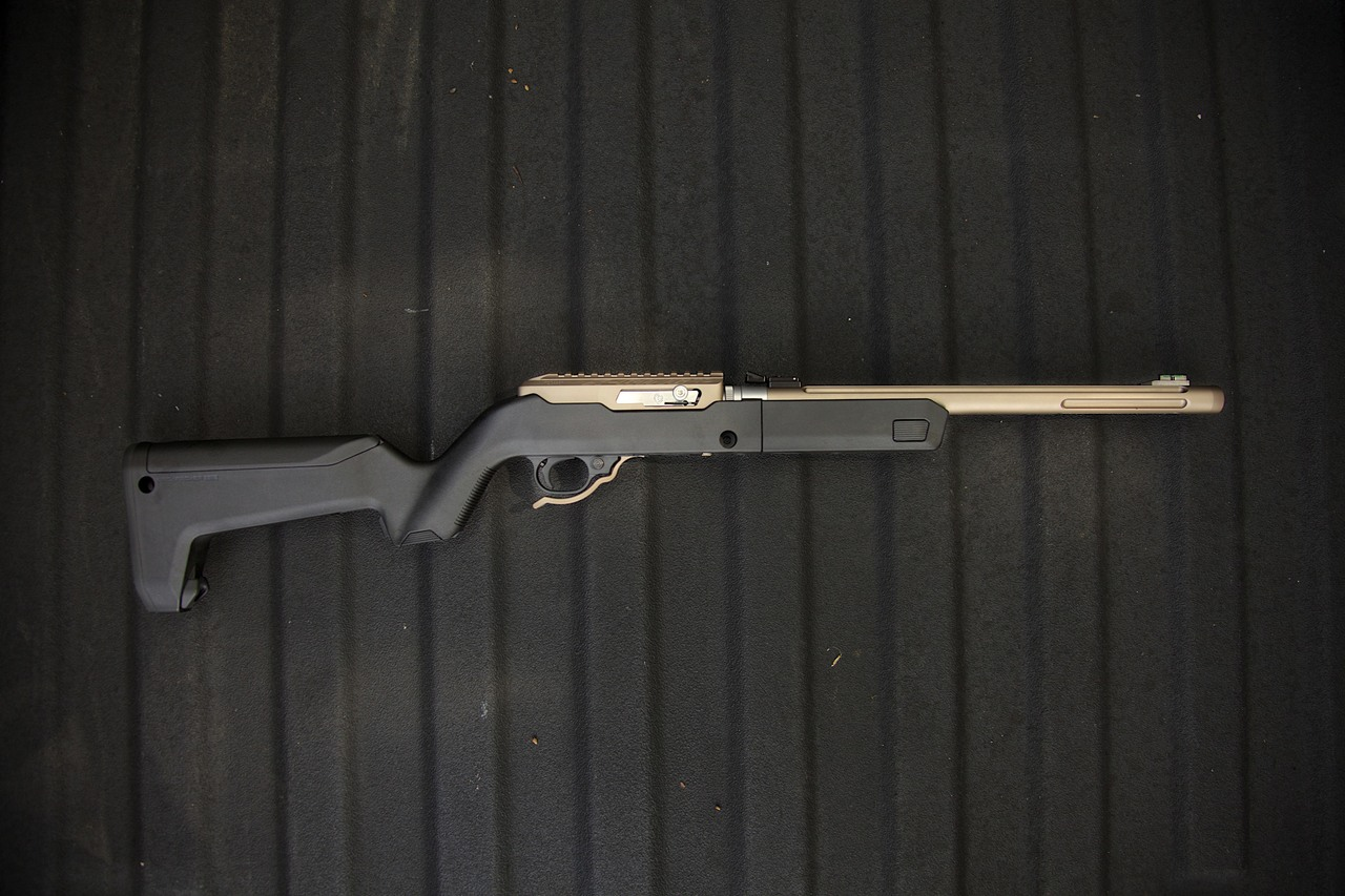 X-Ring™ Takedown .22LR Rifle with Black Magpul Backpacker Stock