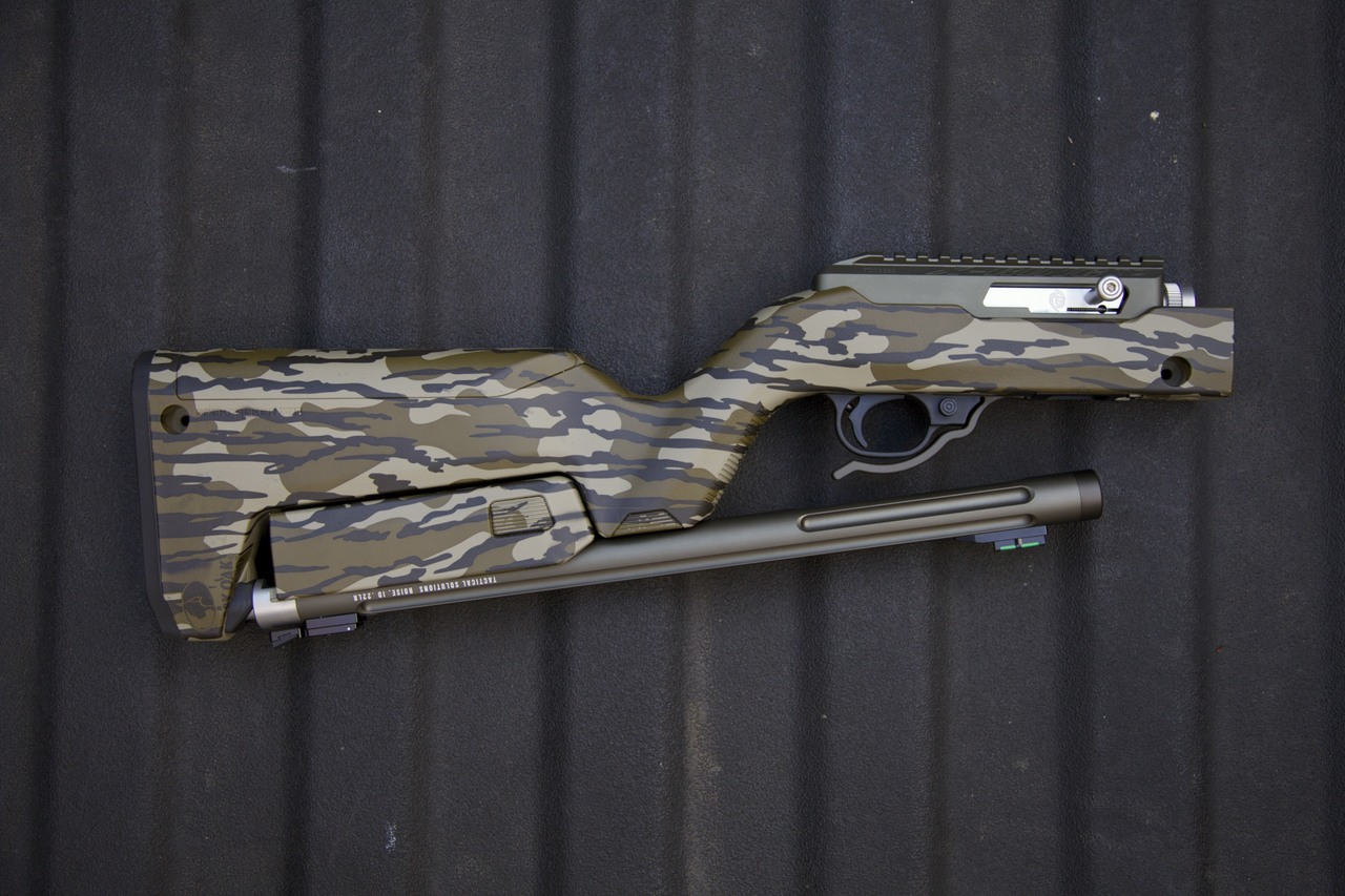 X-Ring Takedown Rifle in Mossy Oak® Bottomland®