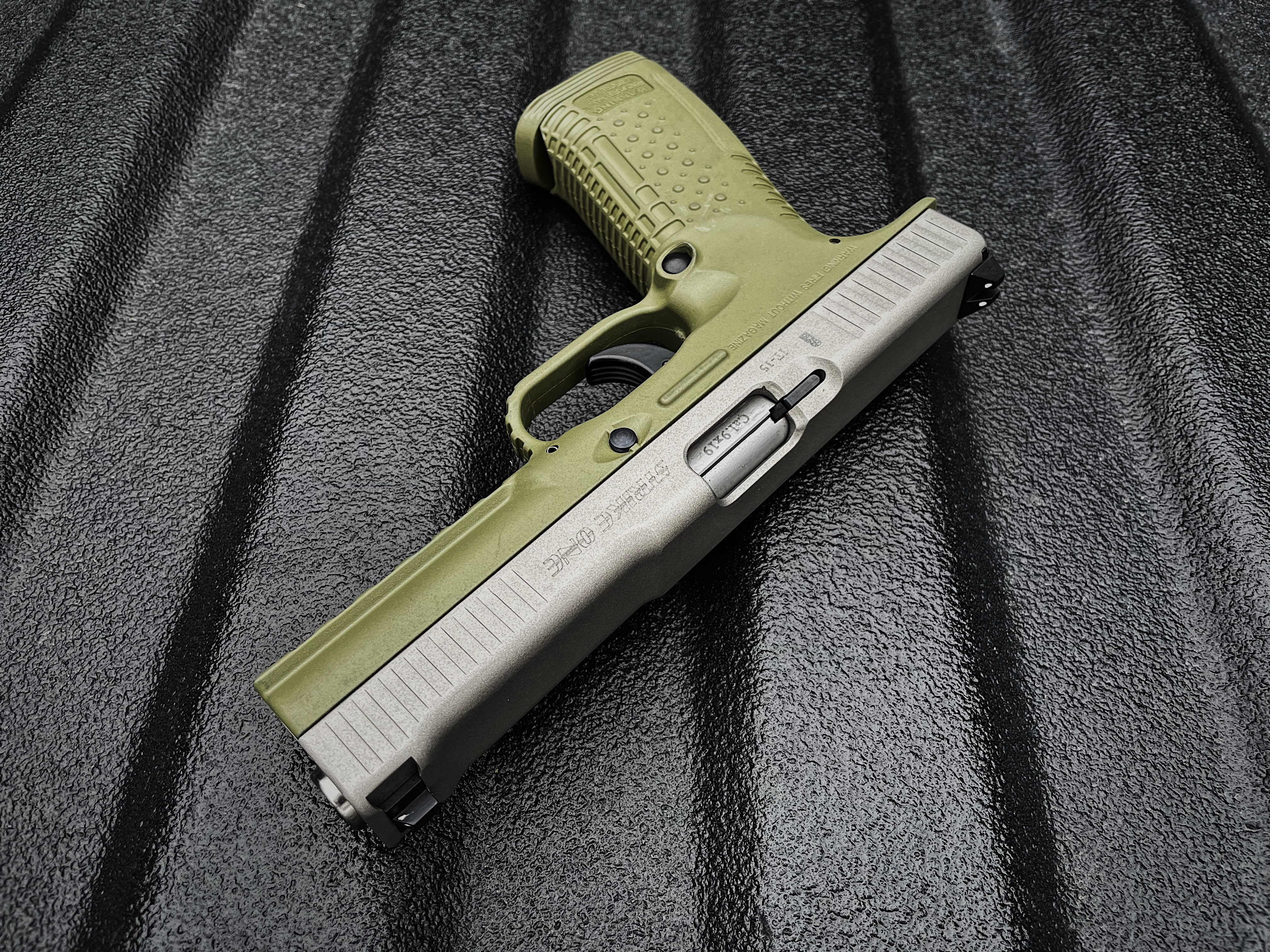 Strike One - Green and Stainless