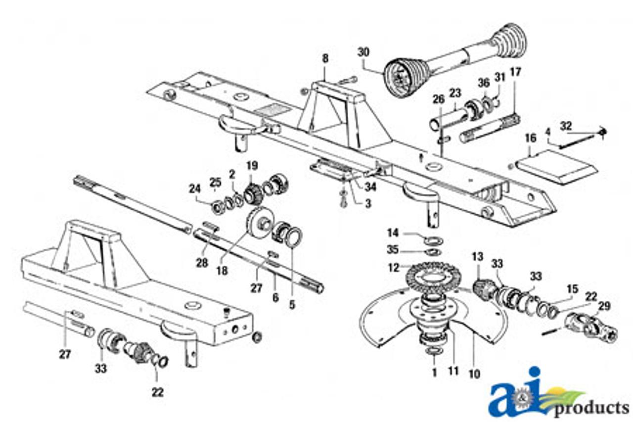 Zweeger Hay Tedder Universal Joint Assembly Part No: A-W088397 Vicon ZND9669Z V51000139Z