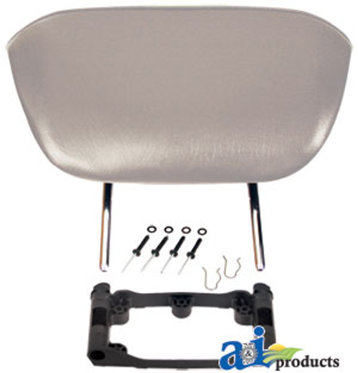 Backrest Extension Kit, GRY VINYL (For use on MSG 65 & 75 Seats) A-BRK65GRV