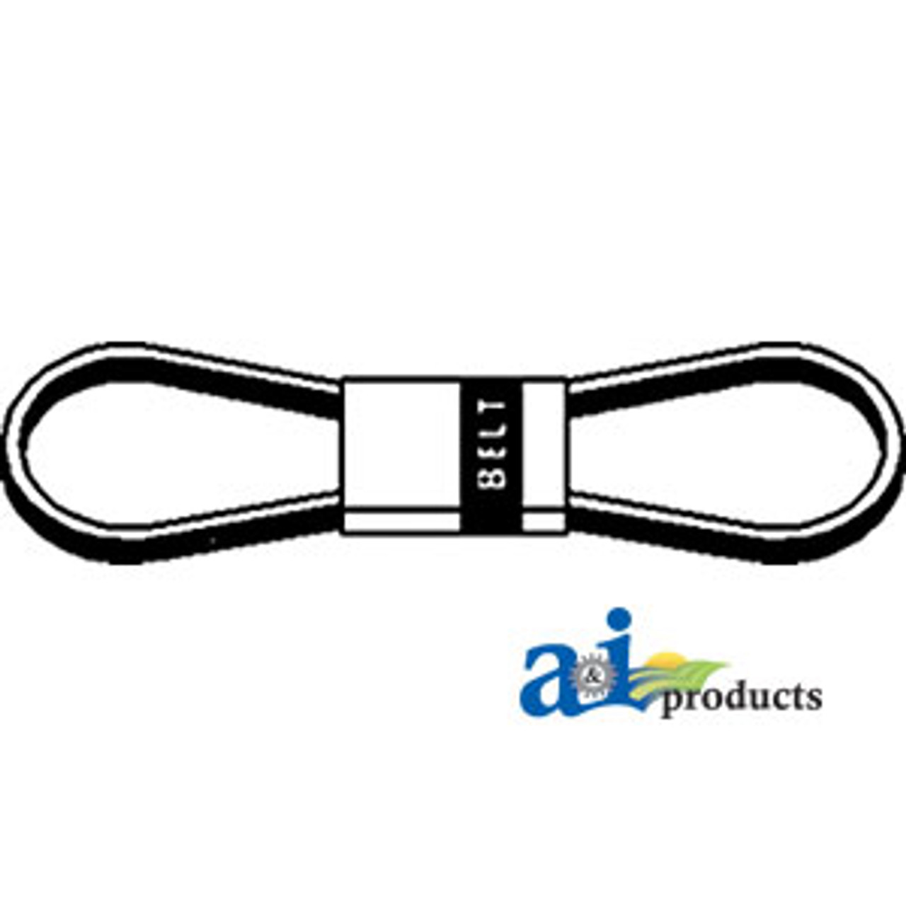 WOODS EQUIPMENT 382800 made with Kevlar Replacement Belt