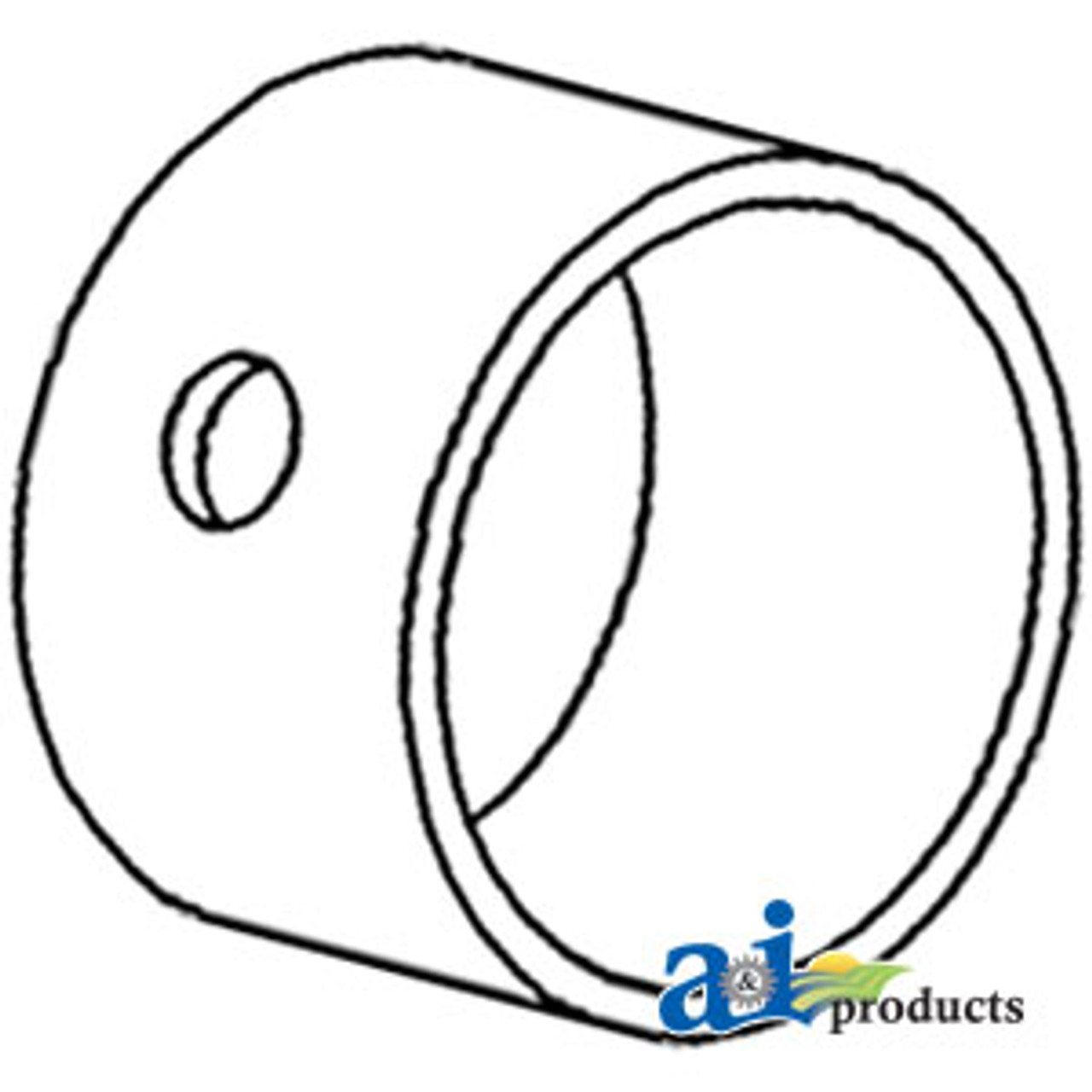 A-83930554-Bushing, Front & Rear Axle (MFWD) A-83930554
